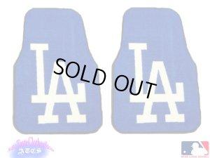 画像1: L.A Dodgers カーマット(official)